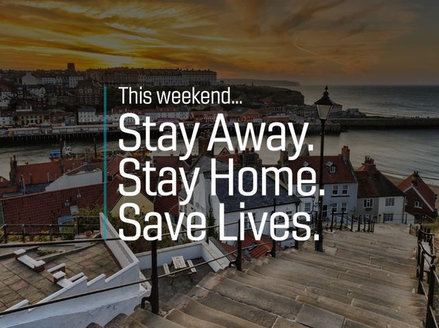 """Stay home - Julia Mulligan, North Yorkshire's police and crime commissioner said it was not the time for """"picnics"""" or driving to the seaside on the East coast to Robin Hood's Bay or Whitby over the Easter period."""