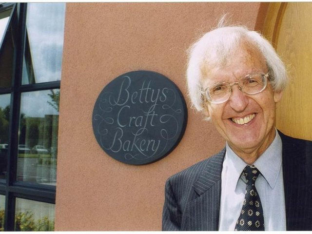 Victor Wild, former Chairman of Bettys & Taylors Group in Harrogate, who passed away earlier this week aged 96.