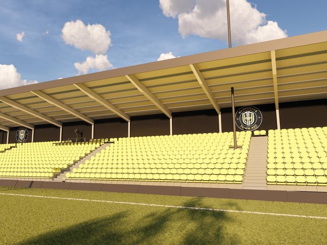 What Harrogate Towns new Family Stand will look like once completed