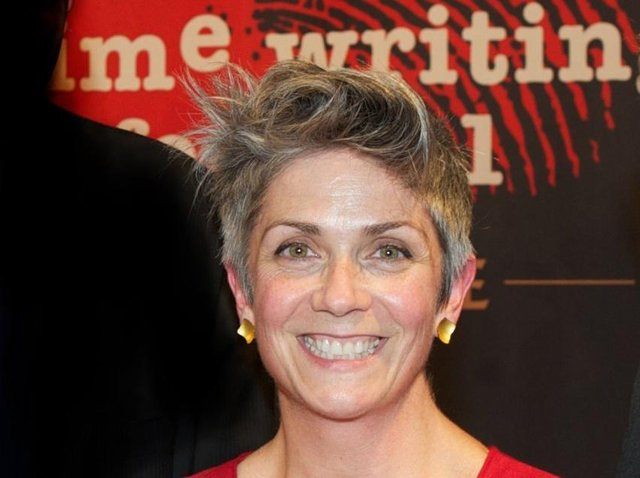 Returning champion Denise Mina, vying to become the first author to complete a hat trick of wins in Theakston Old Peculier Crime Novel of the Year competition with her unsettling thriller Conviction.