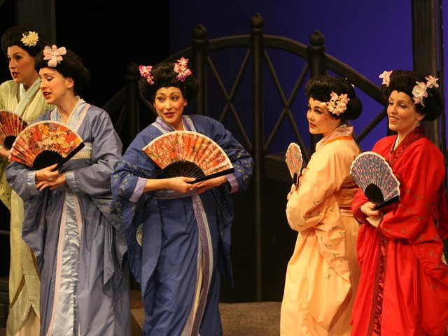 A past production of the Mikado