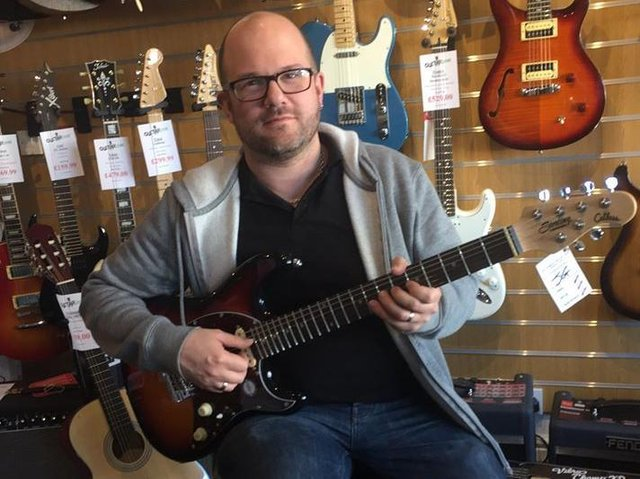 "Guitarzone's Phil Dean: ""It was more than a shop to lots of Harrogate musicians and it had a fantastic community feel about it."""