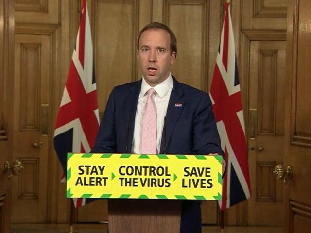 Health Secretary Matt Hancock. Photo: PA