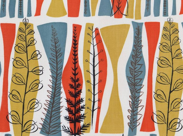 Messums' Harrogate programme will openwith Material Textile: Modern British Female Designers, showcasin some of the most important textiles created by iconic female artists during the 1950s -70s such as Lucienne Day and Marian Mahler.