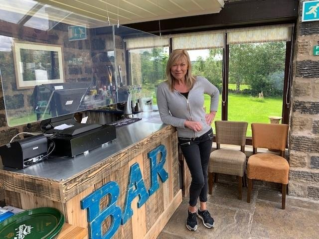 Emmerdale actress Claire King opens the Wellington Inn in Darley.