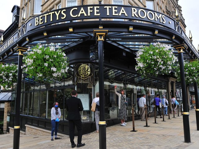 Bettys Harrogate has reopened the doors to its cafe.