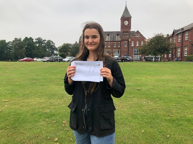Tabitha Milton gained 5 A*s at Ripon Grammar School.