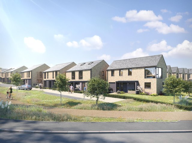 The Watling Grange development in Harrogate is a collection of two bedroom apartments and two, three, fourand five bedroom homes.