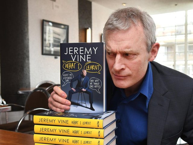 A star of the forthcoming Raworths Harrogate Literature Festival - Broadcaster and author Jeremy Vine.
