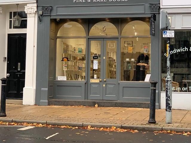 New book shop in Harrogate - John Atkinson - Fine & Rare books shop is steeped in the world of rare books.