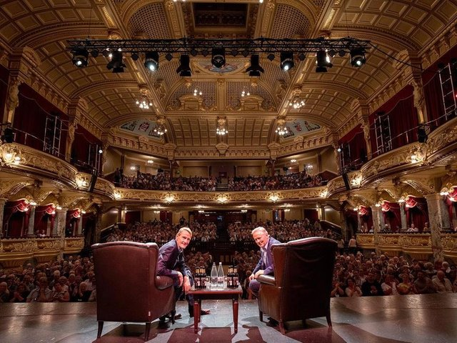 Flashback to pre-Covid days and a glittering event at the Royal Hall organised by Harrogate International Festivals.
