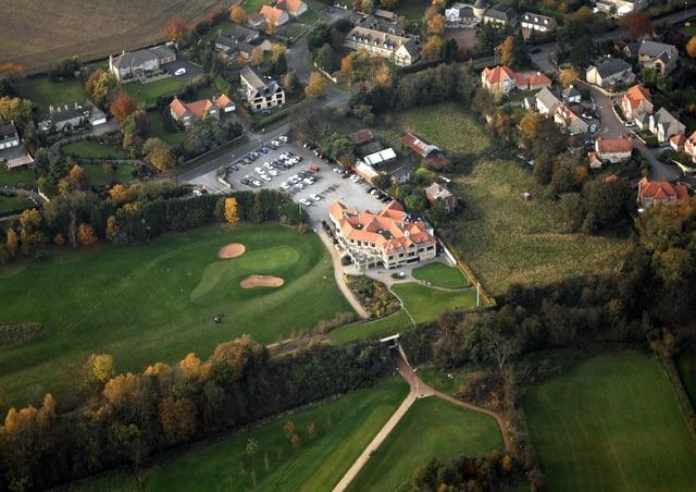 wet. Wetherby Golf Club. 091029GS7u.