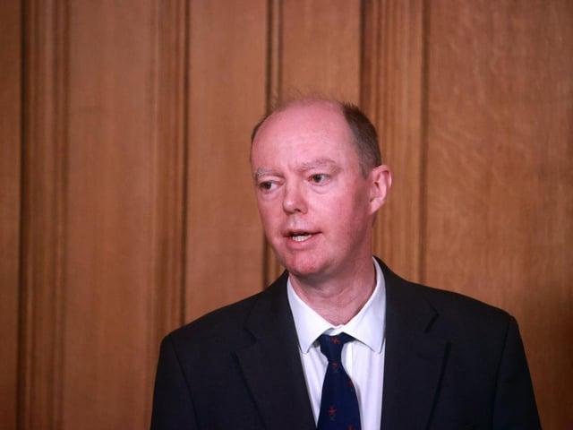 Professor Chris Whitty. Photo: PA