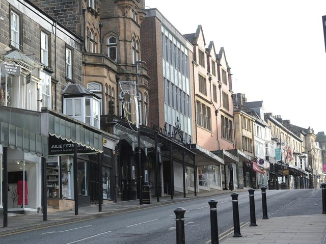 The Harrogate Debenhams on Parliament Street is one of the branches not reopening after lockdown.