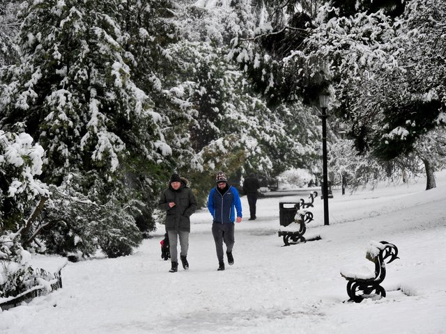 Take a look through these pictures of Harrogate in the snow.