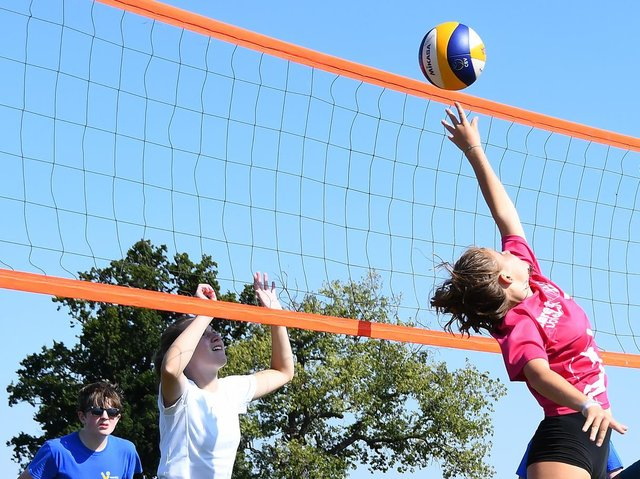 Volleyball is growing in popularity, but has been hit by coronavirus lockdowns. Picture by David Harrison Photography.