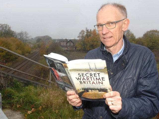 Former BBC journalist and author Colin Philpott will present the stories of hidden places, including many in Yorkshire and the Harrogate district as part of the Rossett Talks series.