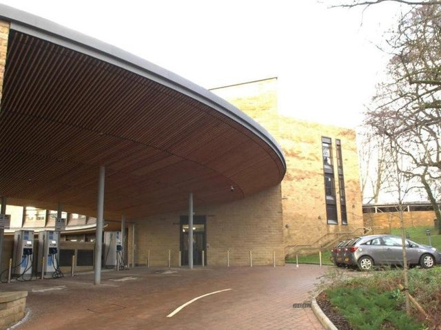 Harrogate Borough Council's civic centre headquarters at St Luke's Mount.