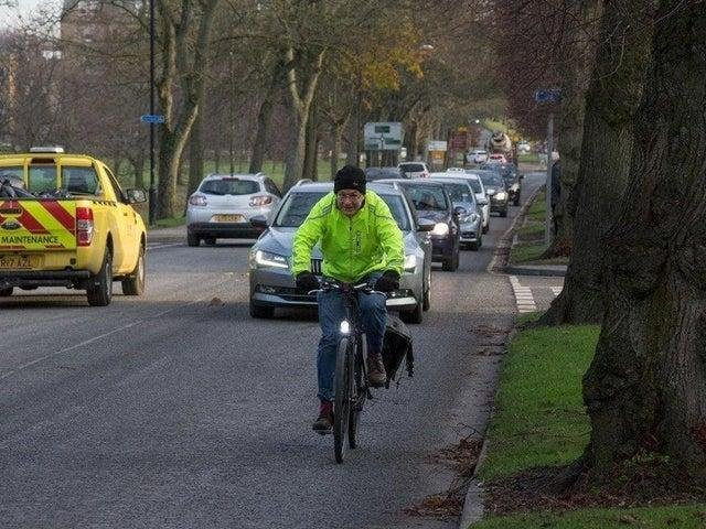 The Otley Road cycle path project was first announced in 2017 but has hit a series of delays.