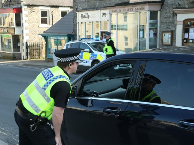 North Yorkshire Police handed out a record 255 Covid fines in the last seven days.