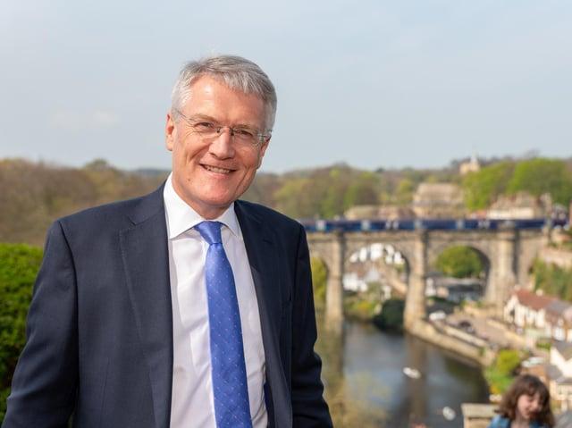 Support for the Budget - Harrogate and Knaresborough MP Andrew Jones.