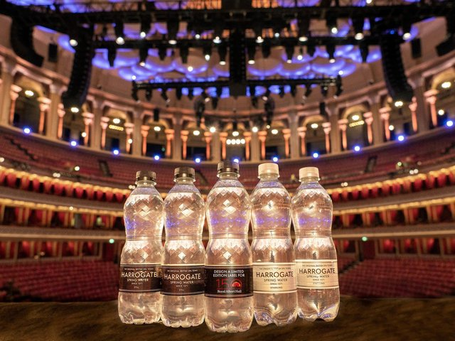 Harrogate Spring Water is teaming up with iconic London landmark the Royal Albert Hall to offer aspiring creatives the chance to have their artwork featured on its 500ml bottles.