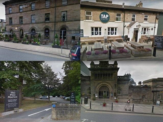 Here are some of the top rated pubs and bars with beer gardens and outdoor seating in Harrogate.