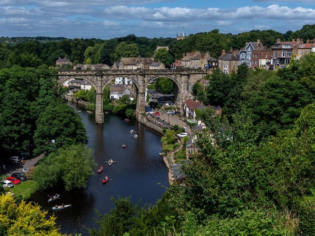 Hopes are high that places like Knaresborough will attract tourists for staycations once lockdown laws are eased.