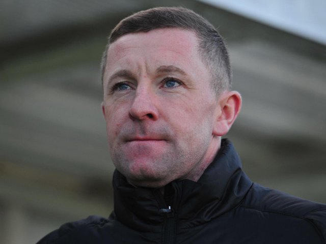 Harrogate Railway manager Mick O'Connell. Picture: Gerard Binks