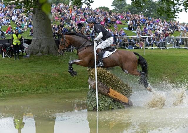 Bramham International Horse Trials.   Picture Bruce Rollinson