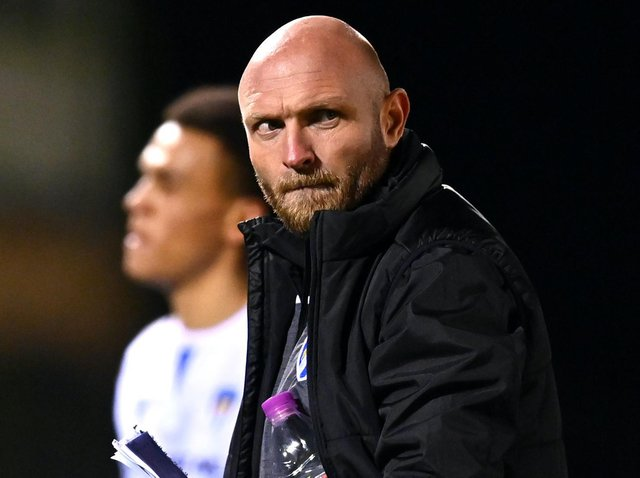 Colchester United boss Wayne Brown. Pictures: Getty Images