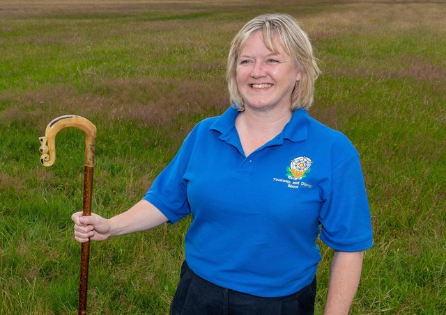 President of Tockwith Show Michelle Lee. Picture James Hardisty
