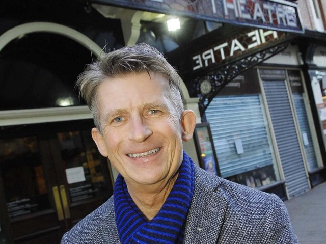 Major upheaval and exciting times - Harrogate Theatre's chief executive David Bown.
