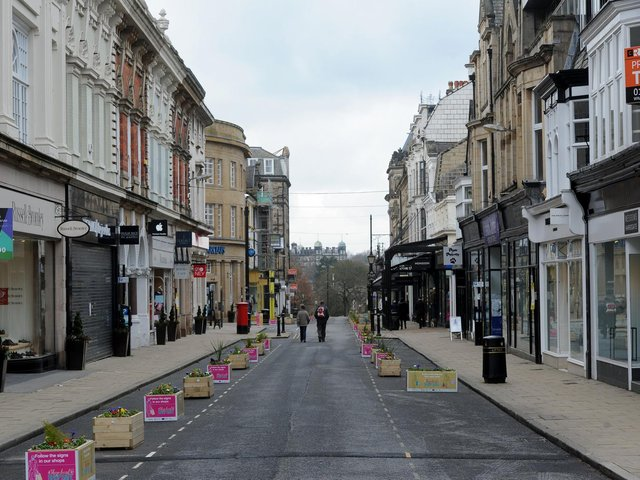 James Street in Harrogate could be at last partly pedestrianised under proposals to give priority to sustainable transport in the town centre.