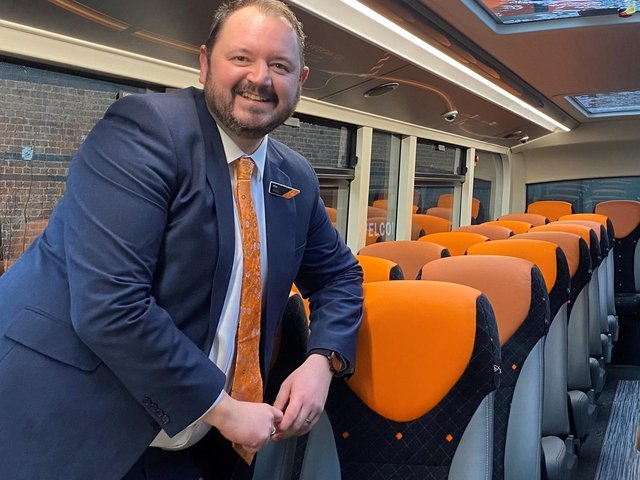 Transdev CEO, Alex Hornby, is supporting the Government's National Bus Strategy.