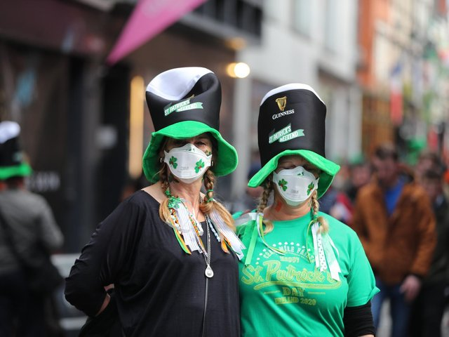 St Patrick's Day celebrations affected for second year in a row for Harrogate's 1,400 Irish residents