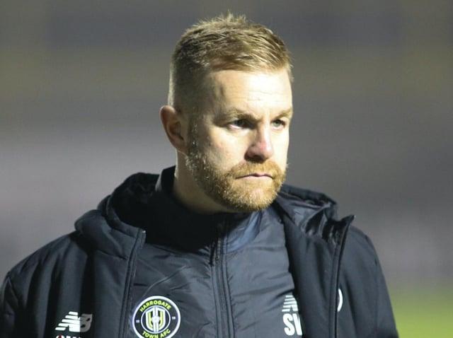 Harrogate Town manager Simon Weaver. Pictures: Matt Kirkham