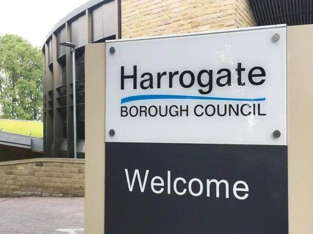 Harrogate Borough Council's headquarters at Knapping Mount.