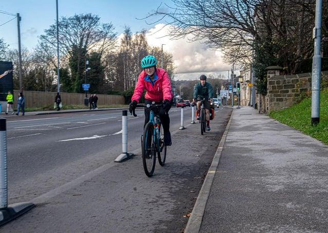 Kirkstall Road Cycling paths 22.11.20