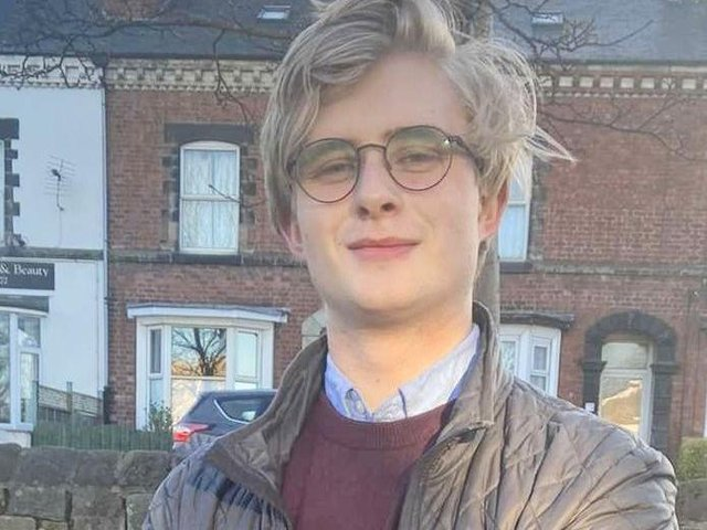 Tyler Reeton, Harrogate Labour Party's candidate for the Bilton by-election.