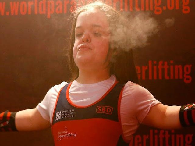 Harrogate's Charlotte McGuinness shone for Team GB at the Para Powerlifting World Cup. Picture: Submitted