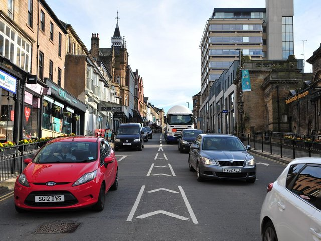 Fewer cars and lower carbon emissions? Passions are rising over efforts in Harrogate to reshape the town's streets for a future based on more sustainable transport.