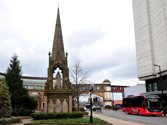 Future of Harrogate town centre -  Although Harrogate Borough Council will be reviewing its Masterplan, its core objectives are unlikely to change.