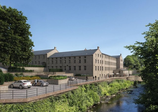 5 Glasshouses Mill, Glasshouses - £450,000 with Nicholls Tyreman, 01423 503076.