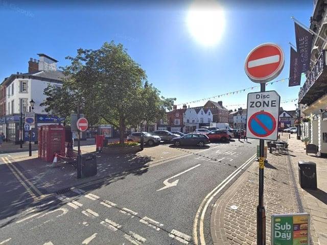 Market Place, Knaresborough. Photo: Google.