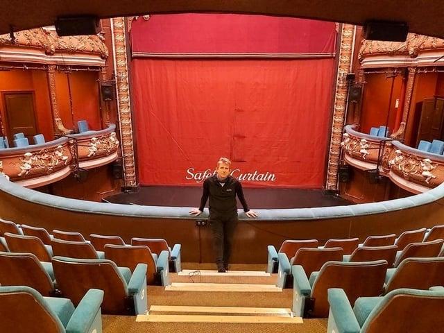 Harrogate Theatre's chief executive David Bown.