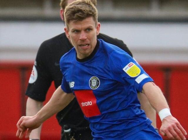 Harrogate Town midfielder Lloyd Kerry. Pictures: Matt Kirkham