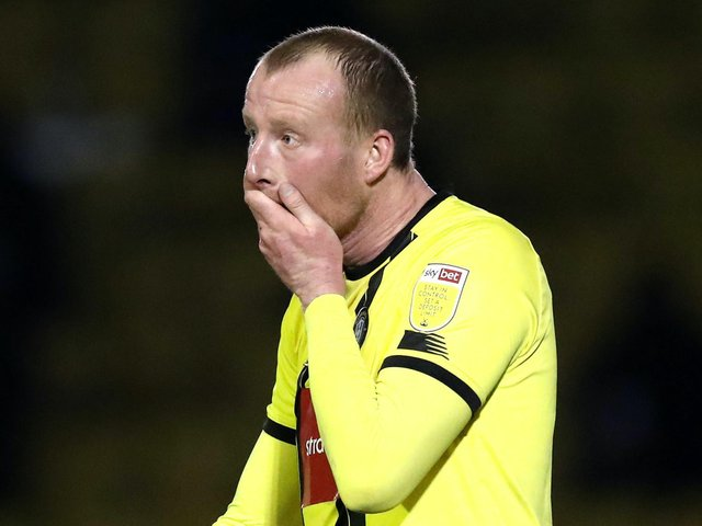 Mark Beck was the last Harrogate Town striker to score a goal, but it came almost a month ago. Picture: Getty Images