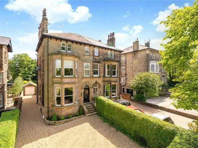These are some of the properties on sale for more than £1 million in Harrogate right now.