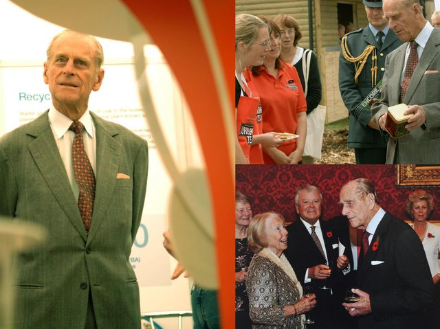 Here are some of the times Prince Philip visited the Harrogate district.